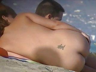 Flat ass - Nice ass, flat top at the nude beach 02