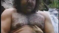 Ron Jeremi slef blowjob