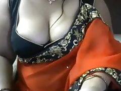 Indian Bhabhi in sari Armpit Tease