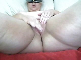 My fat BBW fuckfriend sent me this video speading her Pussy