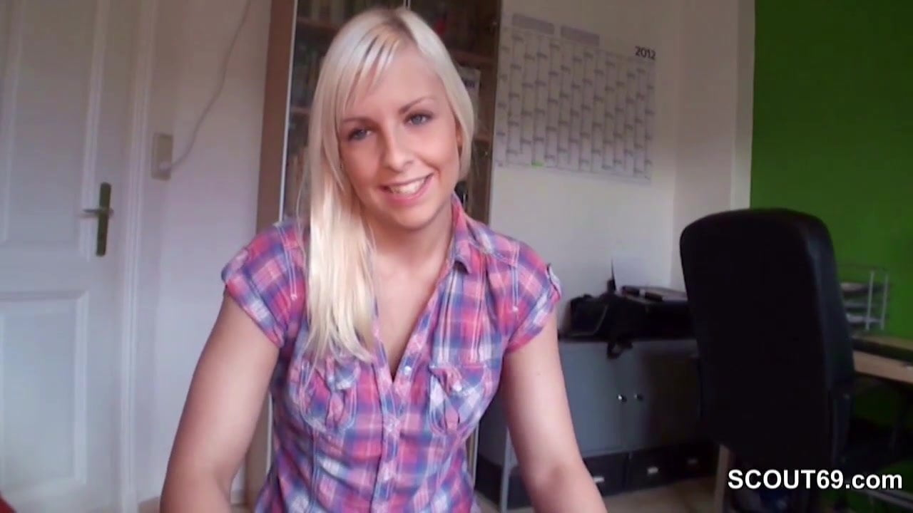 German Step-Sister Caught Brother And Help With Handjob-7252