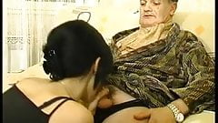 Enticing girl offers wonderful handjob in sexual fun
