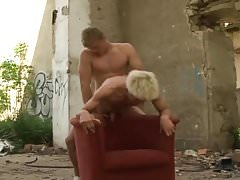 Czech boys have some interesting outdoor action