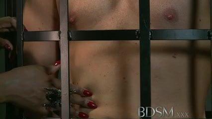 Free download & watch bdsm xxx caged slave boy gets hardcore treatment         porn movies
