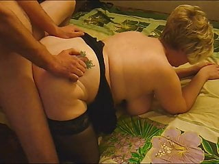 adult blonde with a big ass Fucks guy