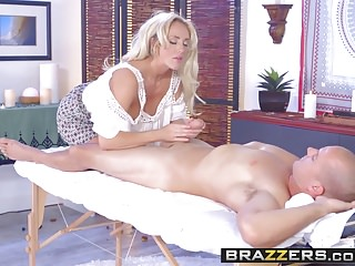 Preview 5 of Brazzers - Dirty Masseur - The Cock Healer scene starring Ol