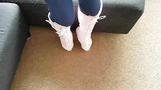 Sofia's ballet boot walk