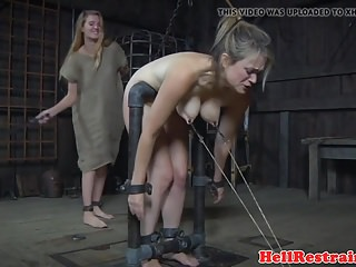 Video bokep online Restrained sub whipped while anally hooked 3gp