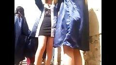 Turkish Graduation Pantyhose Legs