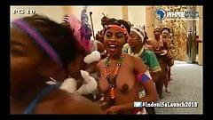 Cultural African boobs