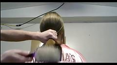 Silky Hair Pulling and Brushing, Long Hair, Hair