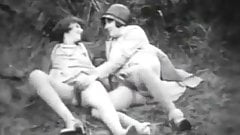 Teen Beauty and Her Perverted Nanny (1920s Vintage)