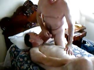 Grandpa masturbating other grandpa