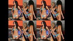 Michelle Kassandra Mcousins Hooters Thong Bikini Show