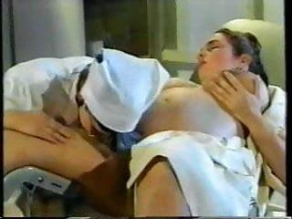 Doctor, nurse and pregnant! Retro porn!