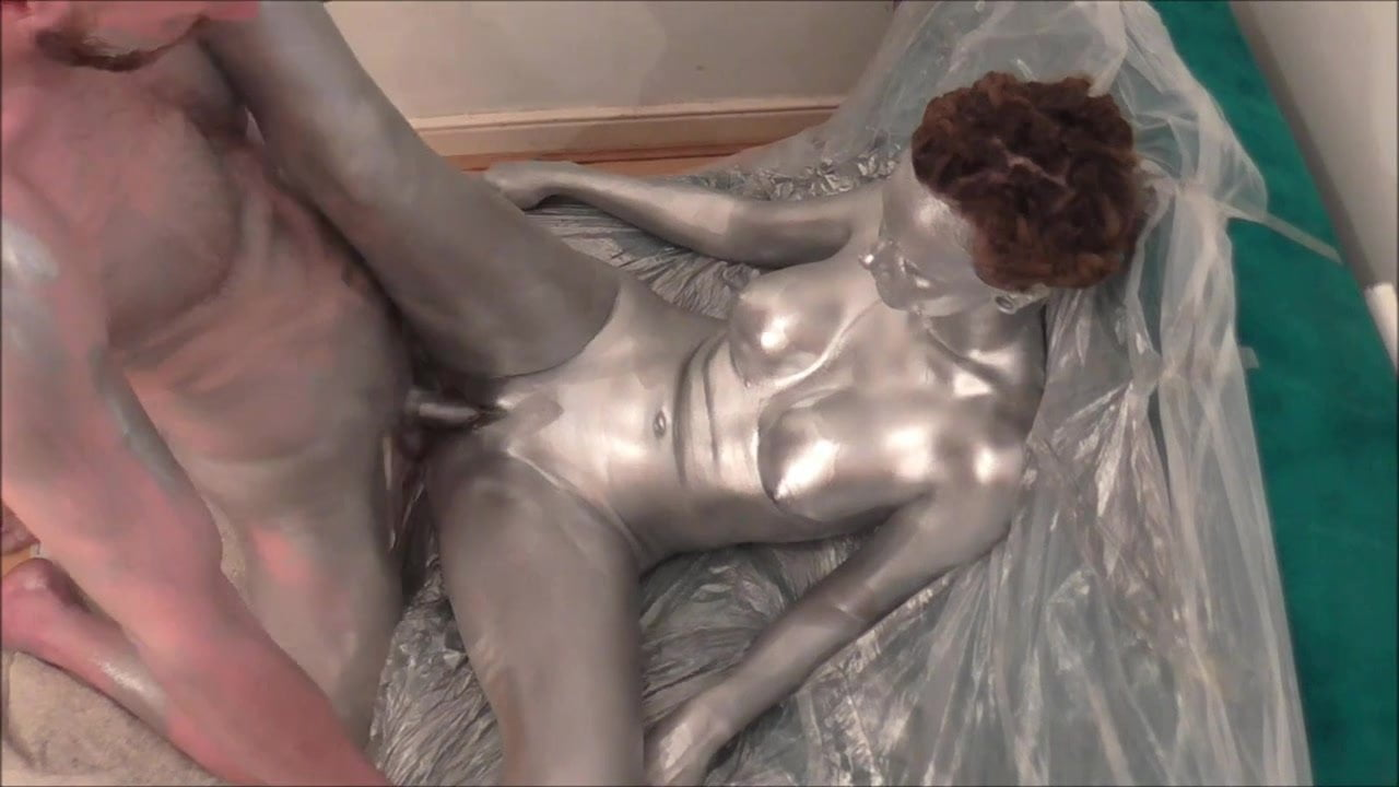 Silver Body Paint Sex And Solo-Trailer, Porn 8A Xhamster-5472