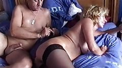 Fucking mature woman in stockings