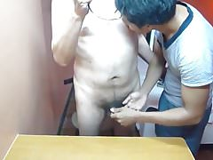 Thai Teen Strokes My Cock