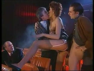 Orgy in theater