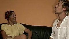 sliim mature lady and boy sex anal