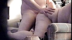 Curvy Big Tit MILF Fucked In The Ass:Loud Moaning,Hidden Cam