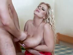 blonde mom,with big titts