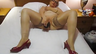 Aunt Sue   bbc masturbating  tribute