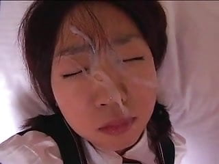 Unwanted facial cum japan