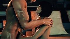 Mass Effect Kasumi visits Shepard