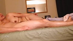 Asian Mature Wife Penis Massage & Happy Ending