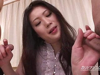 Top rated threesome Asian blowjob Naomi Sugawara