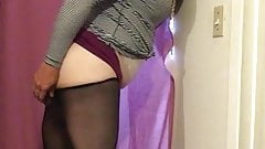 Raven Demi Sissy and her BBC dildos