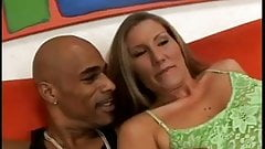 Sexy Milf  Sucks And Fucks A Black Guy