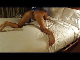 Massaging my wife in Hawaii...