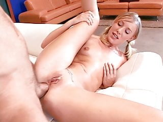 Teen bitch has her tight ass banged
