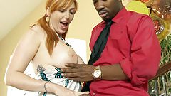 Lauren Phillips Fucks Her Black Stepdad