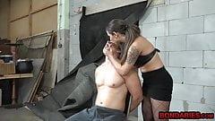 Horny guy enjoys FEMDOM from his mistress