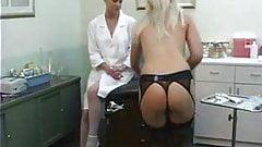 Lesbian Nurse takes advantage PT1 DMvideos