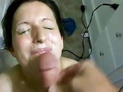 Amateur facial mess