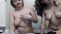A lovely pair webcam teasers