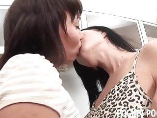 Lesbian girlfriends who love licking asshole