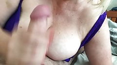 Sexy nails and cum