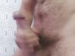 Masturbation in the bathroom 4