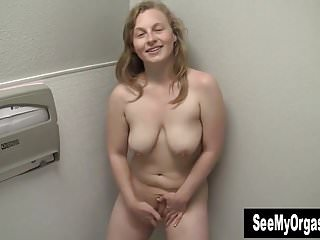 Busty Lili Masturbating In Bathroom