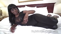 Black Teen Amateur Whore loves Anal