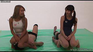 Japanese Femdom Double Facesitting