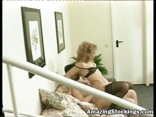 Vintage stockings and anal sex More at amazing stockings web