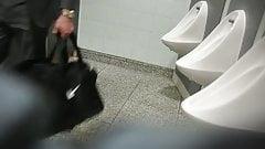 In public toilets