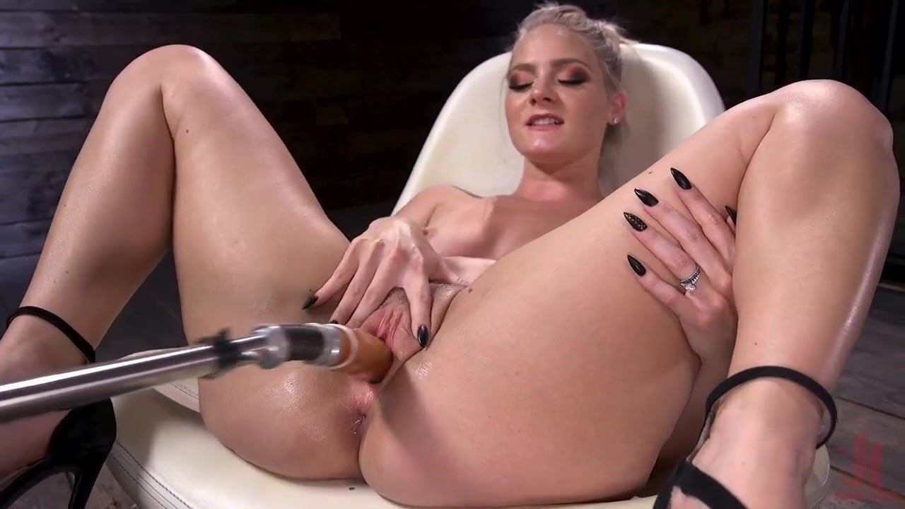 Anal Sex Machine Porn lisey sweet is fucked rawour machines!