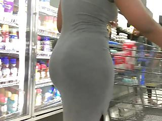Perfect Ass Body in Grey Dress Part 2